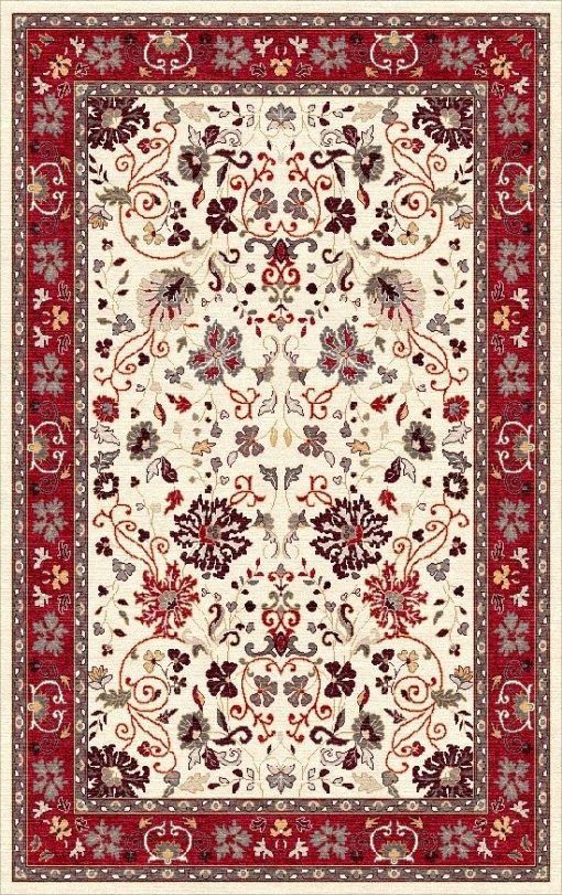 Buy Hand Tufted rugs and carpet online - P06(HT)(1-Warm-2)