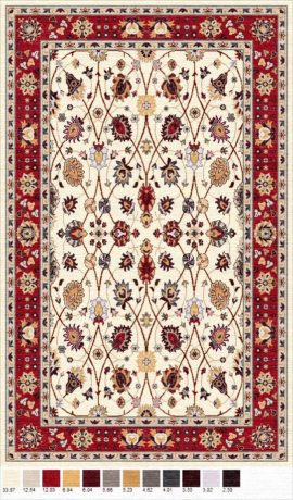 Buy Hand Tufted rugs and carpet online - P07(HT)(1-Warm-2)