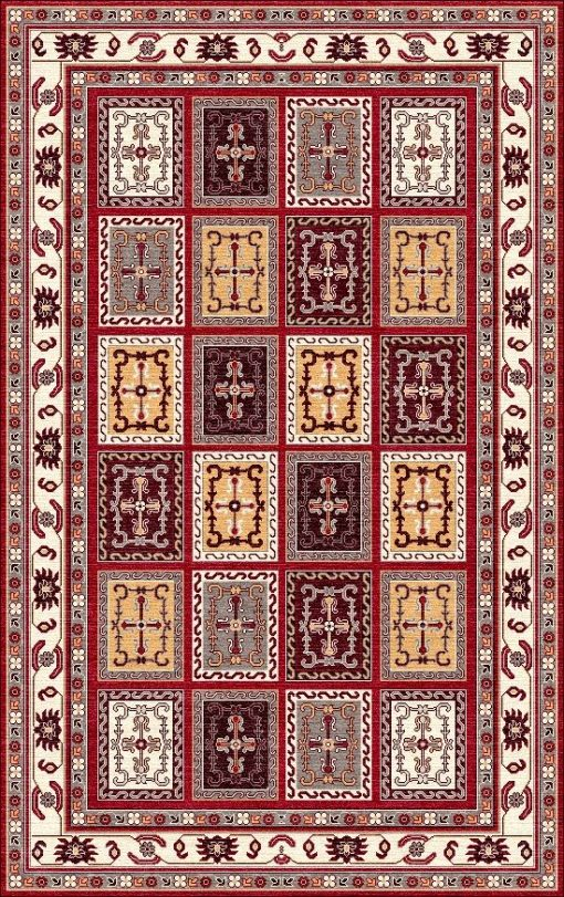 Buy Hand Tufted rugs and carpet online - P13(HT)(1-Warm-2)