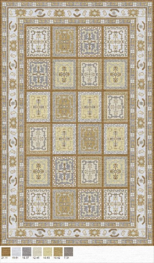 Buy Hand Tufted rugs and carpet online - P13(HT)(3-Neutral-2)