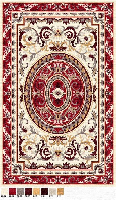 Buy Hand Tufted rugs and carpet online - P14(HT)(1-Warm-2)