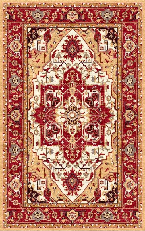 Buy Hand Tufted rugs and carpet online - P15(HT)(1-Warm-2)