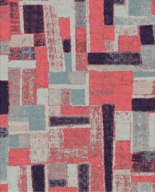 Buy Hand Knotted rugs and carpet online - UA04(HK)(5-Contrast-4)