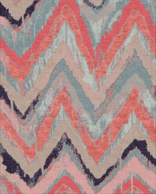 Buy Hand Knotted rugs and carpet online - UA05(HK)(5-Contrast-4)