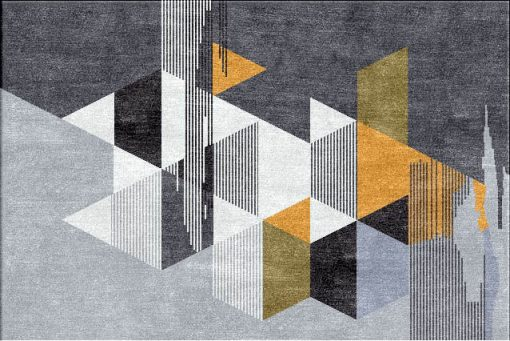 Buy Hand Tufted rugs and carpets online - RM032-(CST)(HT)(120X180CM)(W) - Actual Design 1