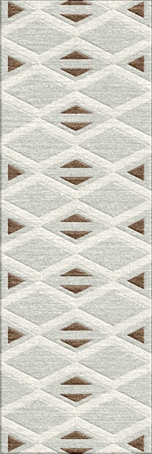 Buy Hand Tufted rugs and carpet online - RM063-(CST)(HT)(180X60CM)(W)(Carving) - Actual Design 1