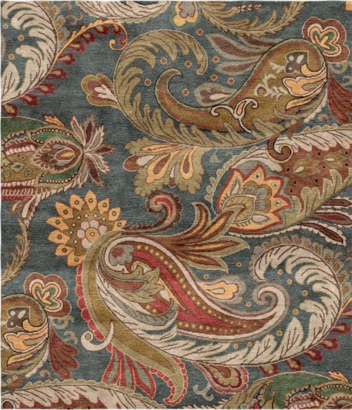 Buy Hand Knotted rugs and carpet online - RM078-(CST)(HK)(110X95CM)(S) - Actual Design 1