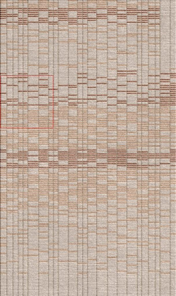 Buy Hand Tufted rugs and carpet online - RM082-(CST)(HT)(265X185CM)(W+V)(Carving) - Actual Design 1