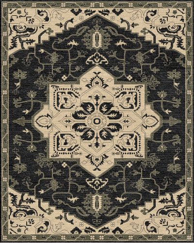 Buy Hand Tufted rugs and carpets online - RM108-(CST)(HT)(300X240CM)(W)(Tie-Dye) - Actual Design 1
