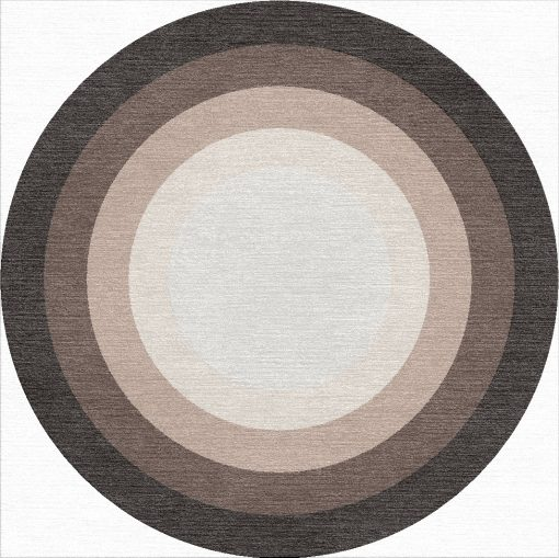 Buy Hand Tufted rugs and carpet online - RM111-(CST)(HT)(300CM Dia)(W)(Carving)(Mixing) - Actual Design 1