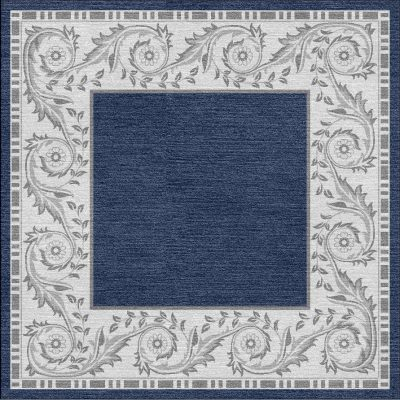 Buy Hand Tufted rugs and carpet online - RM119-(CST)(HT)(250X250CM)(W)(Carving) - Actual Design 1