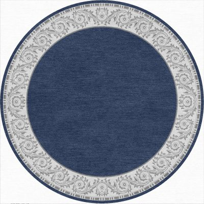 Buy Hand Tufted rugs and carpet online - RM119-(CST)(HT)(400CM Dia)(W)(Carving) - Actual Design 2