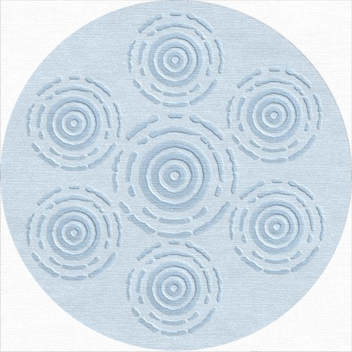 Buy Hand Tufted rugs and carpet online - RM207-(CST)(HT)(328CM Dia)(W+V) - Actual Design 1