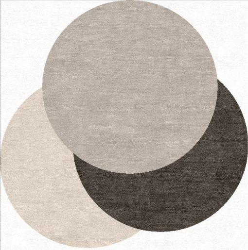 Buy Hand Tufted rugs and carpet online - RM223-(CST)(HT)(Odd Size)(W+V)(Tie-Dye)(Mixing)- Actual Design 1